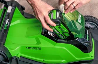 Výmena AKU batérie Greenworks G40B2 40V