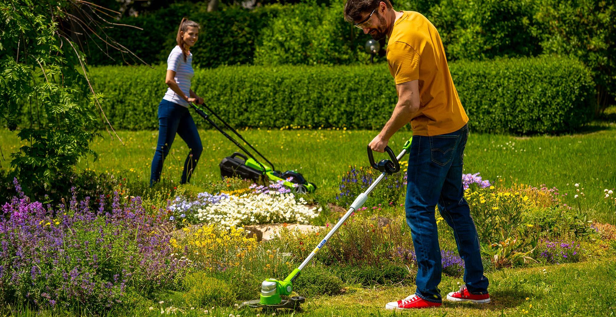 AKU zahradní nářadí