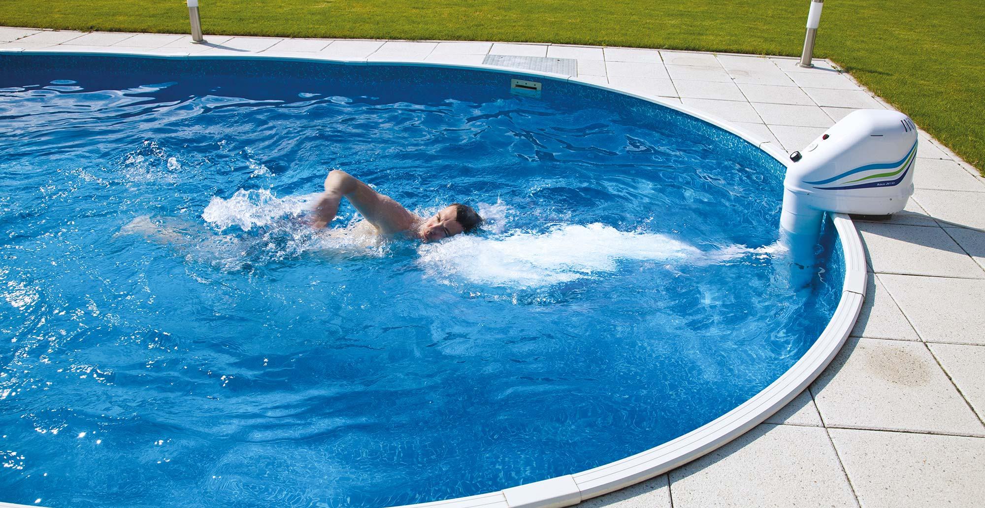 Protiproud do bazénu