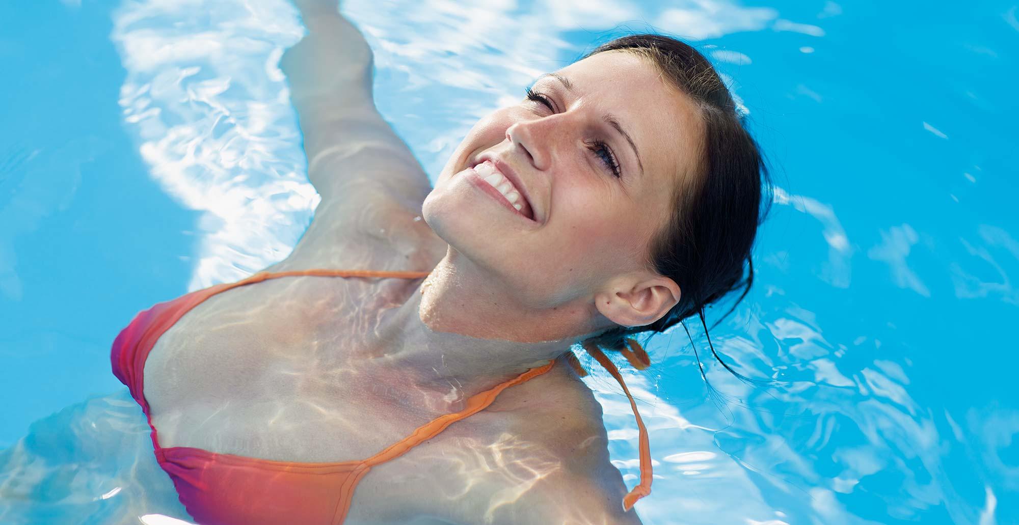 Bazén s chlórem