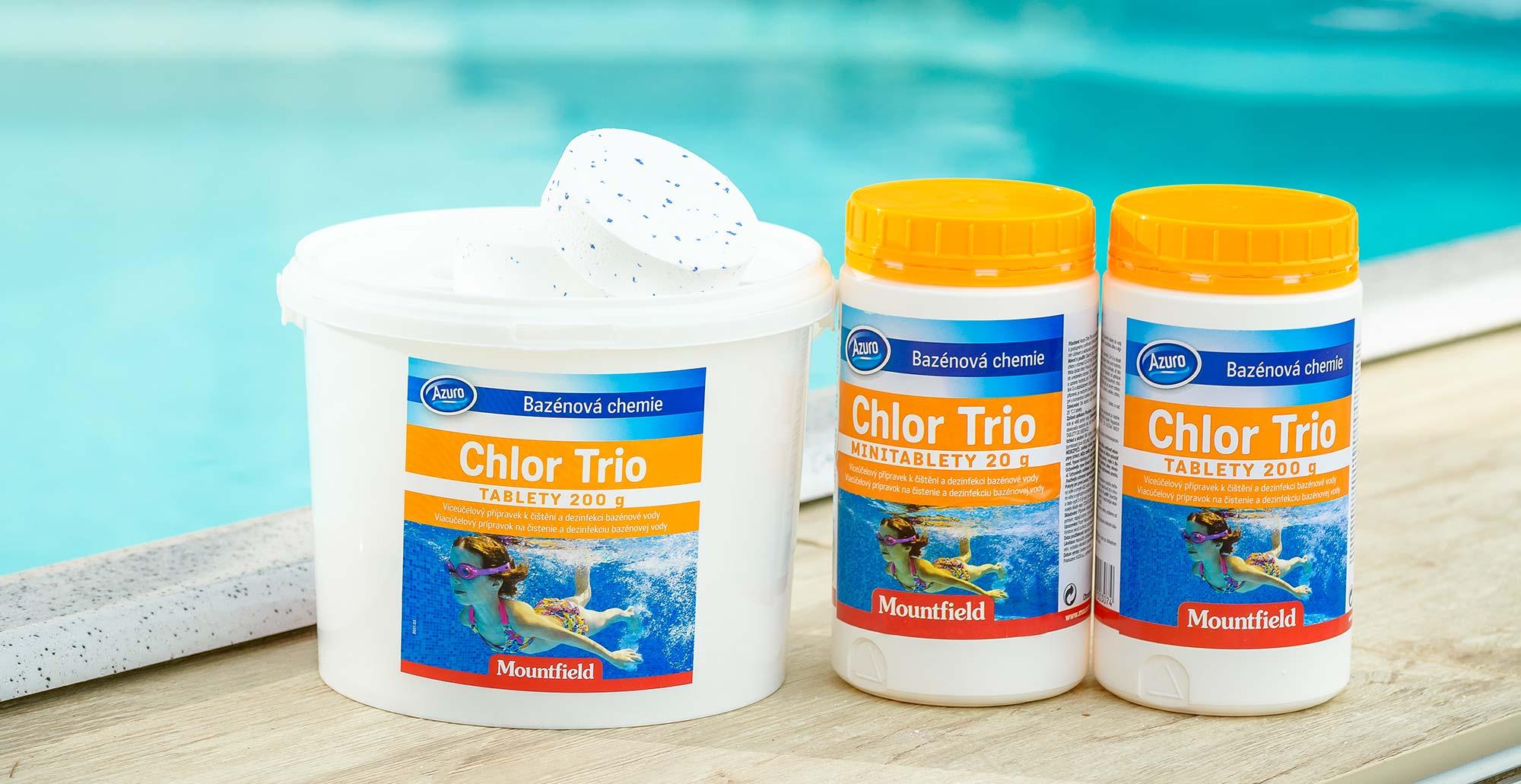 Chlórové tablety do bazéna