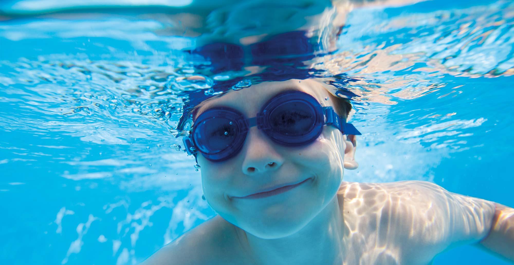 Bazén s kartušovou filtrací