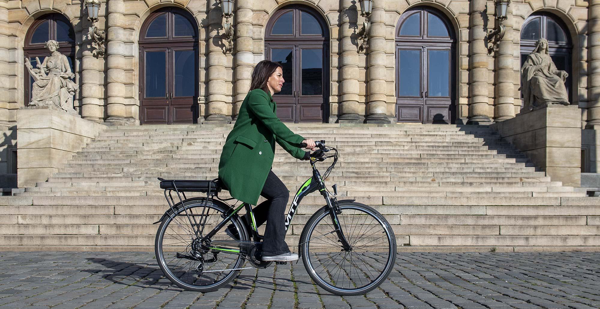 Mestské elektrobicykel