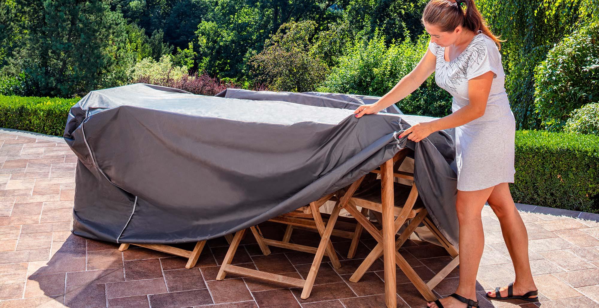 Ochrana zahradního nábytku