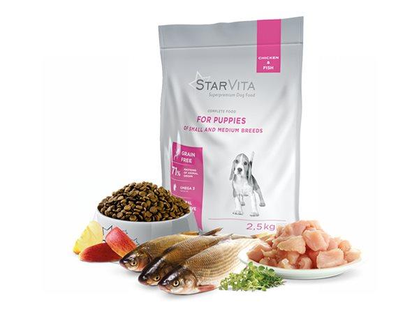 Granule StarVita pro štěňata